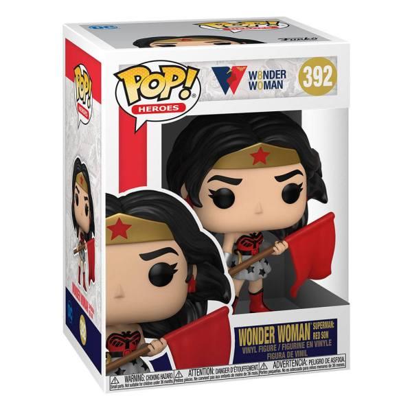 DC Comics POP! Heroes Vinyl Figure WW 80th - WW (Superman: Red Son) 9 cm_fk54976