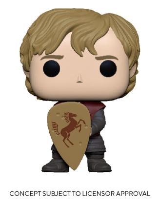 Game of Thrones POP! TV Vinyl Figure Tyrion w/Shield 9 cm_fk56797