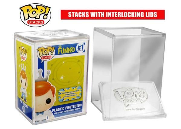 x_fk6520 Funko POP! Stacks! Hard Acrylic Protective Case Védőtok