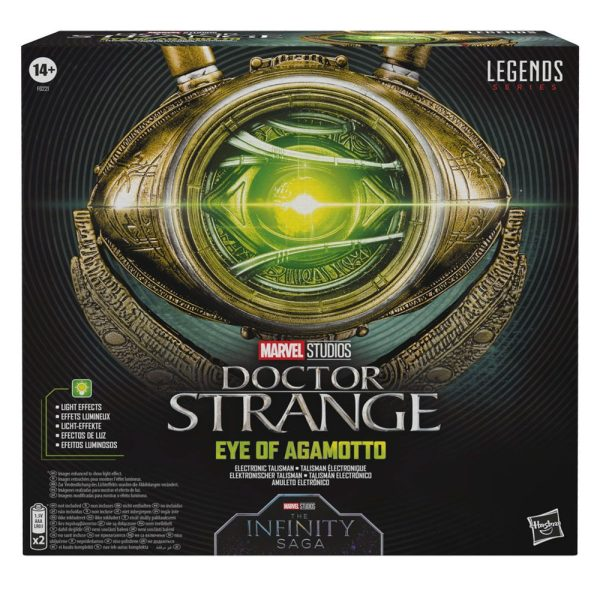 Doctor Strange Marvel Legends Series Role Play Replica 1/1 Eye of Agamotto_hasf0221