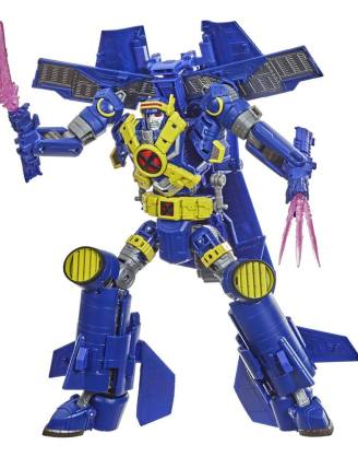 Transformers x Marvel X-Men Animated Action Figure Ultimate X-Spanse 22 cm