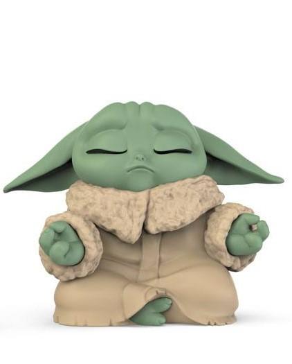 Star Wars Mandalorian Bounty Collection Figura - The Child Meditation