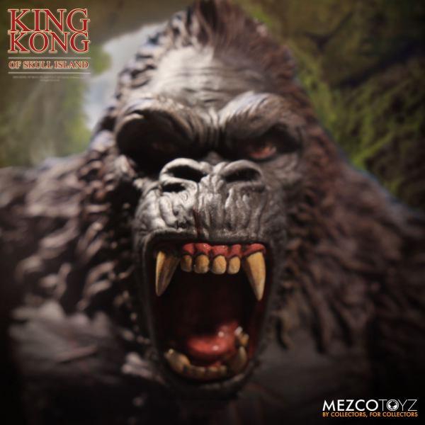 x_mez10100-rev1_a x_mez10100-rev1 King Kong Akciófigura - King Kong of Skull Island 18 cm