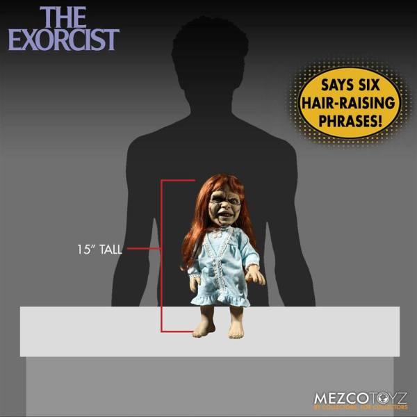 x_mez42012_b The Exorcist Mega Scale Akciófigura with Sound Feature Regan MacNeil 38 cm