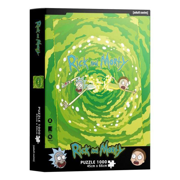 Rick & Morty Jigsaw Puzzle - Portal (1000 pieces)