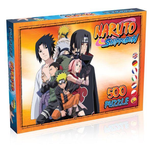 Naruto Shippuden Jigsaw Puzzle - Characters