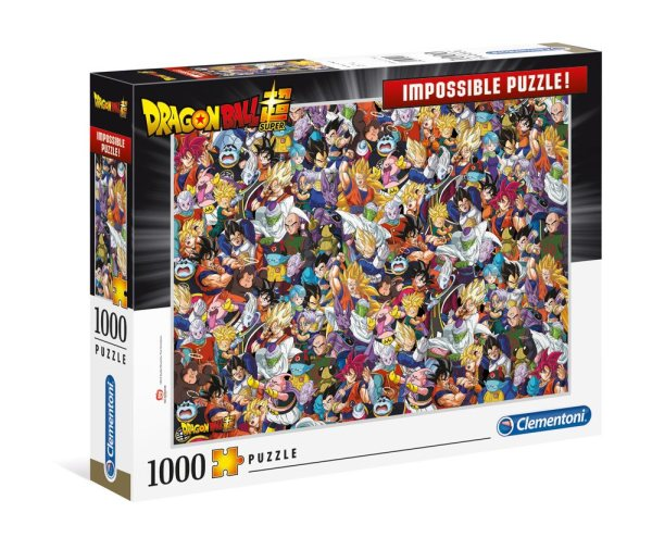 Dragon Ball Super Impossible Puzzle Characters (1000 db-os)