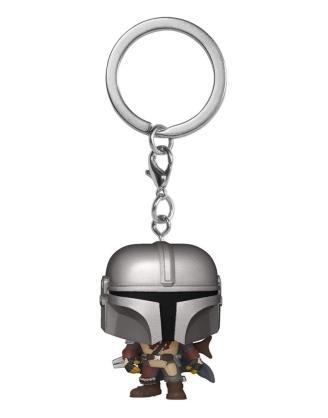 Star Wars The Mandalorian Pocket POP! Kulcstartó - The Mandalorian 4cm