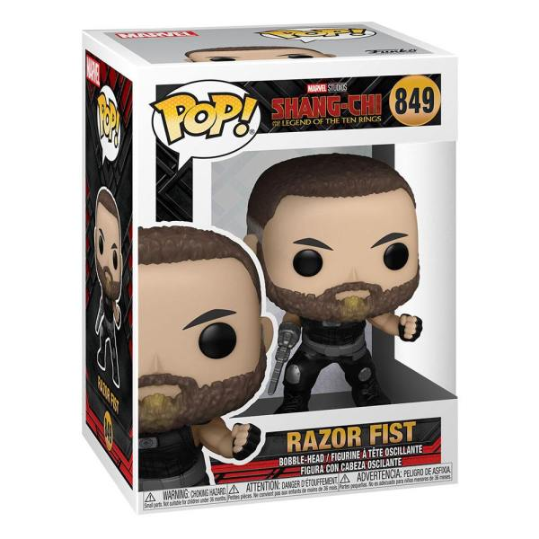 Shang-Chi and the Legend of the Ten Rings POP! Vinyl Figure Razor Fist 9 cm_fk54349