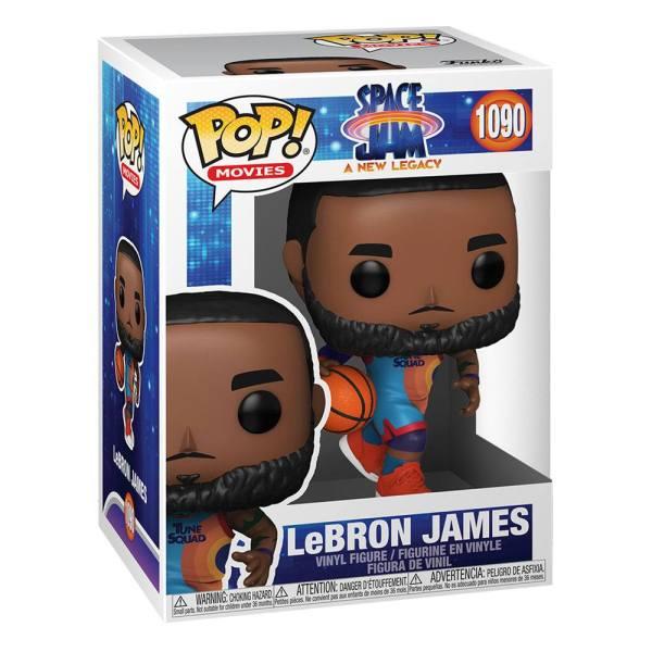 Space Jam 2 POP! Movies Vinyl Figure LeBron James (Alt #2) 9 cm_fk56356