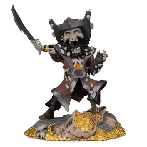 Sea of Thieves PVC Figura - Captain Flameheart 12 cm