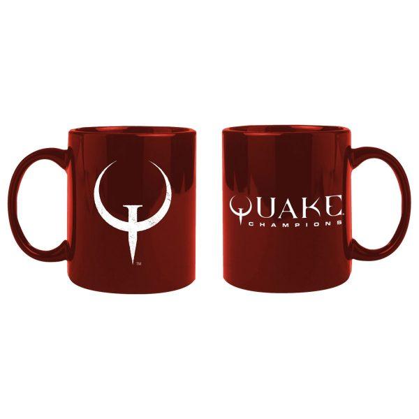 Quake Champions bögre Logo
