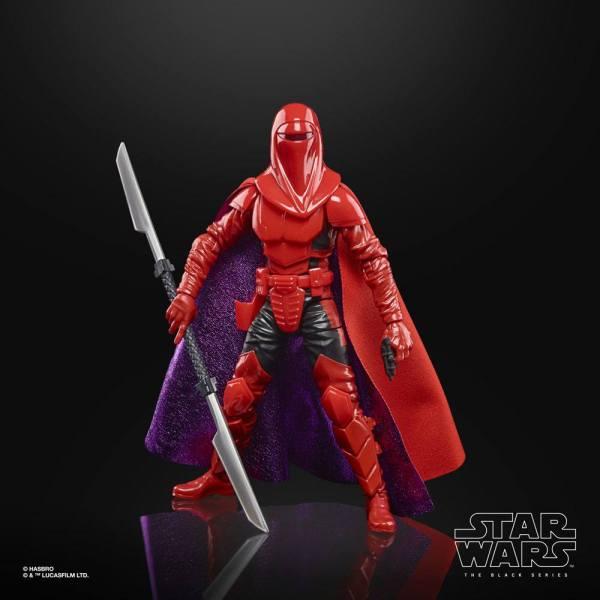 Star Wars Crimson Empire Black Series Lucasfilm 50th Anniversary Akciófigura - 2021 Carnor Jax 15 cm