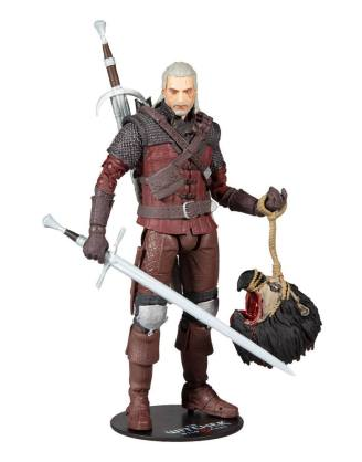 The Witcher 3: Wild Hunt Action Figure Geralt of Rivia (Wolf Armor) 18 cm_mcf13406