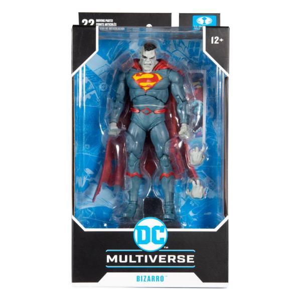 DC Multiverse Akciófigura - Superman Bizarro (DC Rebirth) 18 cm