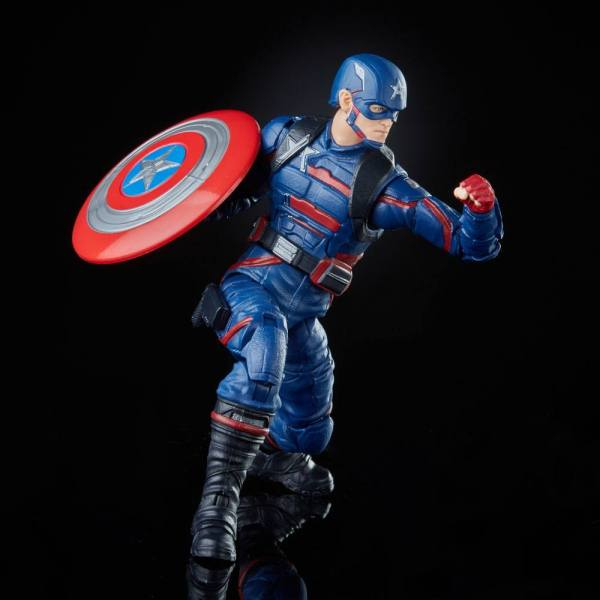 The Falcon and the Winter Soldier Marvel Legends Action Figure 2021 Captain America (John F. Walker)