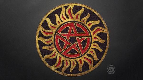 Supernatural szőnyeg - Anti-Possession Symbol 61 cm