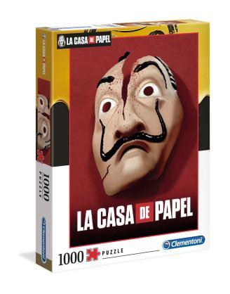 Money Heist Puzzle - Mask (1000 db-os)