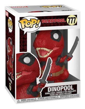 Marvel Deadpool 30th Anniversary POP! Vinyl Figura - Dinopool 9 cm