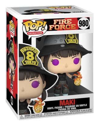 Fire Force POP! Animation Vinyl Figure Maki 9 cm_fk56158