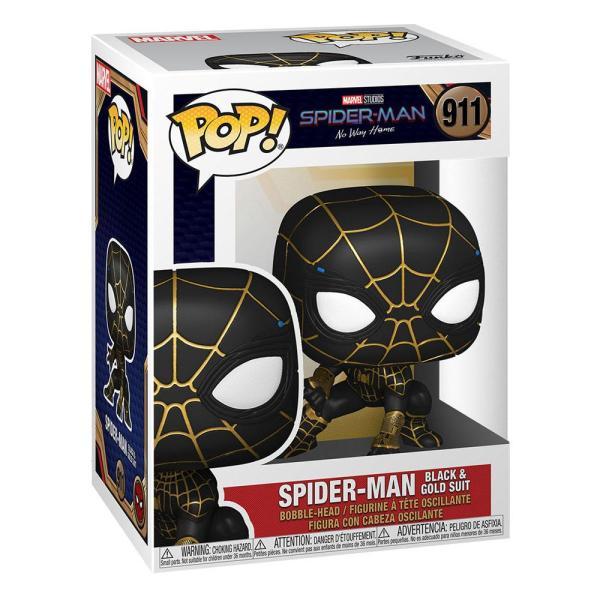 Spider-Man: No Way Home POP! Vinyl Figure Spider-Man (Black & Gold Suit) 9 cm_fk56827