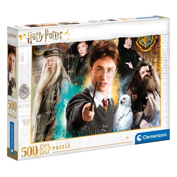 Harry Potter Jigsaw Puzzle - Harry at Hogwarts (500 pieces)