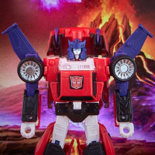 Transformers Generations War for Cybertron: Kingdom Deluxe Class Akciófigura Autobot Road Rage