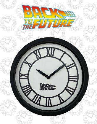 Back To The Future Wall Clock / Falióra Hill Valley Clock Tower
