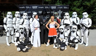 Course Of The Force 2013, An Epic Lightsaber Relay, Benefiting Make-A-Wish Foundation - Day 1