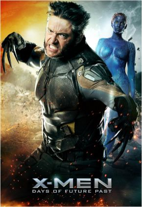 X-Men-Days-of-Future-Past-Wolverine-and-Mystique-poster
