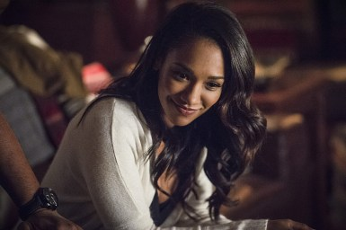 "The Flash -- ""King Shark"" -- Image FLA215a_0065b -- Pictured: Candice Patton as Iris West -- Photo: Cate Cameron/The CW -- © 2016 The CW Network, LLC. All rights reserved."