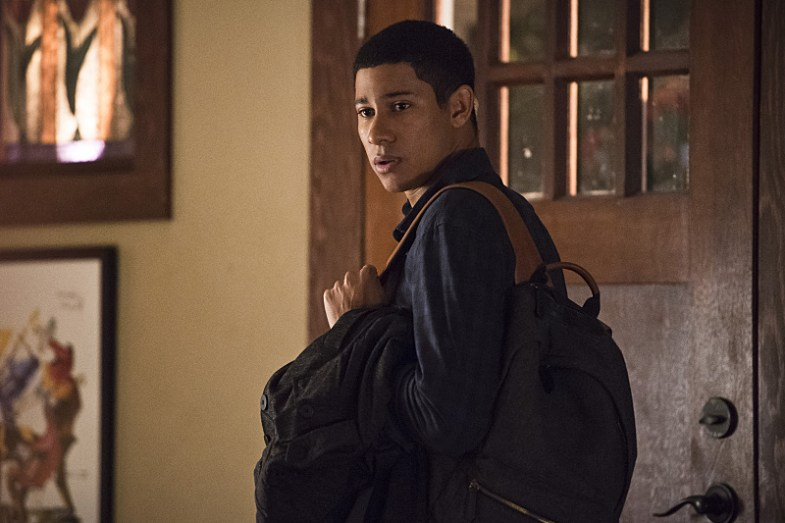 "The Flash -- ""King Shark"" -- Image FLA215a_0166b -- Pictured: Keiynan Lonsdale as Wally West -- Photo: Cate Cameron/The CW -- © 2016 The CW Network, LLC. All rights reserved."