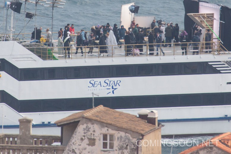Shooting the eighth sequel of Star Wars on the ship Sea Star off the coast of Croatia Featuring: Atmosphere Where: Dubrovnik, Croatia When: 15 Mar 2016 Credit: WENN.com **Only available for publication in UK, USA, Germany, Austria, Switzerland**