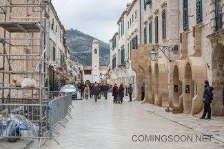 Preparations for the filming of the latest instalment in the Star Wars saga, 'Star Wars: Episode VIII'. The set of the new Star Wars movie is to be protected by numerous guards and drones to stop fans using their own flying gadgets to get a sneak peek of the filming in Dubrovnik, Croatia. Featuring: Atmosphere Where: Dubrovnik, Croatia When: 26 Feb 2016 Credit: WENN.com **Only available for publication in UK, USA, Germany, Austria, Switzerland**