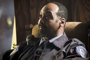 "The Flash -- "" The Runaway Dinosaur"" -- Image: FLA221a_0070b.jpg -- Pictured: Jesse L. Martin as Detective Joe West -- Photo: Katie Yu/The CW -- © 2016 The CW Network, LLC. All rights reserved."