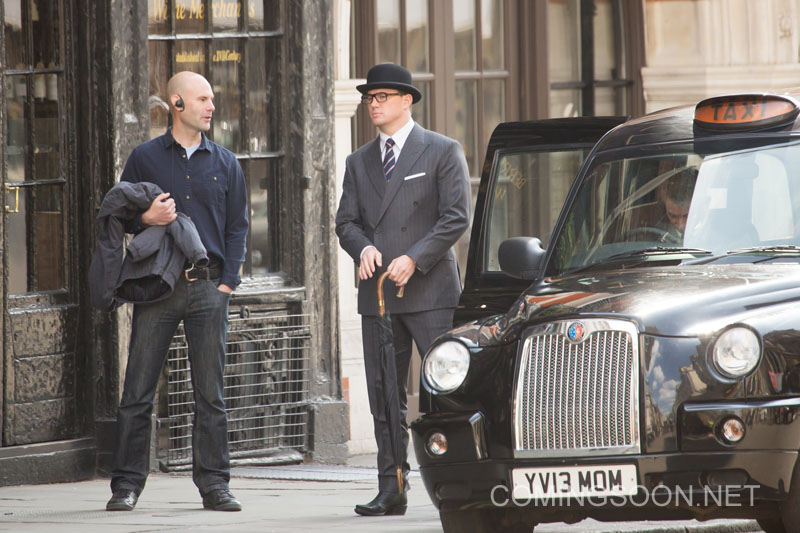 Channing Tatum films scenes for 'Kingsman: The Golden Circle' in London, England Featuring: Channing Tatum Where: London, United Kingdom When: 15 May 2016 Credit: WENN.com