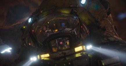 Guardians Of The Galaxy Vol. 2..L to R: Star-Lord/Peter Quill (Chris Pratt) and Yondu (Michael Rooker) ..Ph: Film Frame..©Marvel Studios 2017