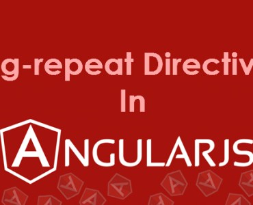 ng-repeat Directive With Json In Angular JS