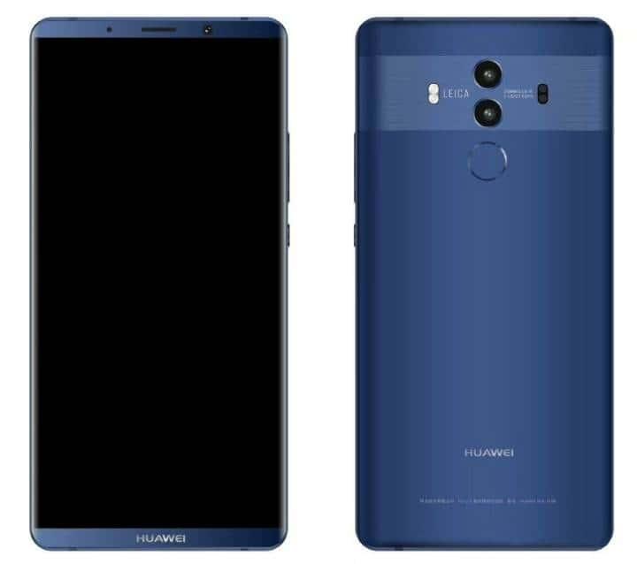 Huawei Mate 10 Leaked via Weibo