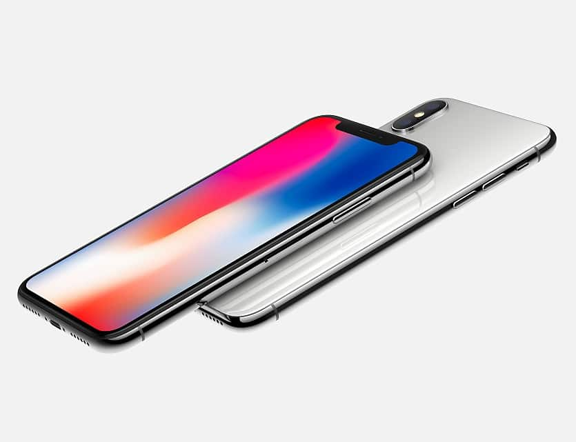 iPhone X White Official Promotion Image