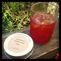 Gin and Strawberry Jam Cocktail Recipe
