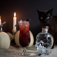Halloween Cocktail: The Black Widow