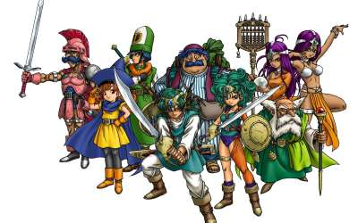 Dragon Quest IV (Ch.1): Ragnar McRyan and the Case of the Missing Children