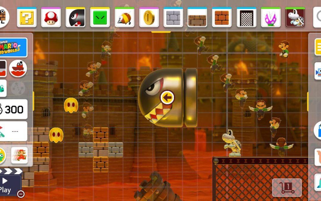 The asymmetric beauty of Mario Maker