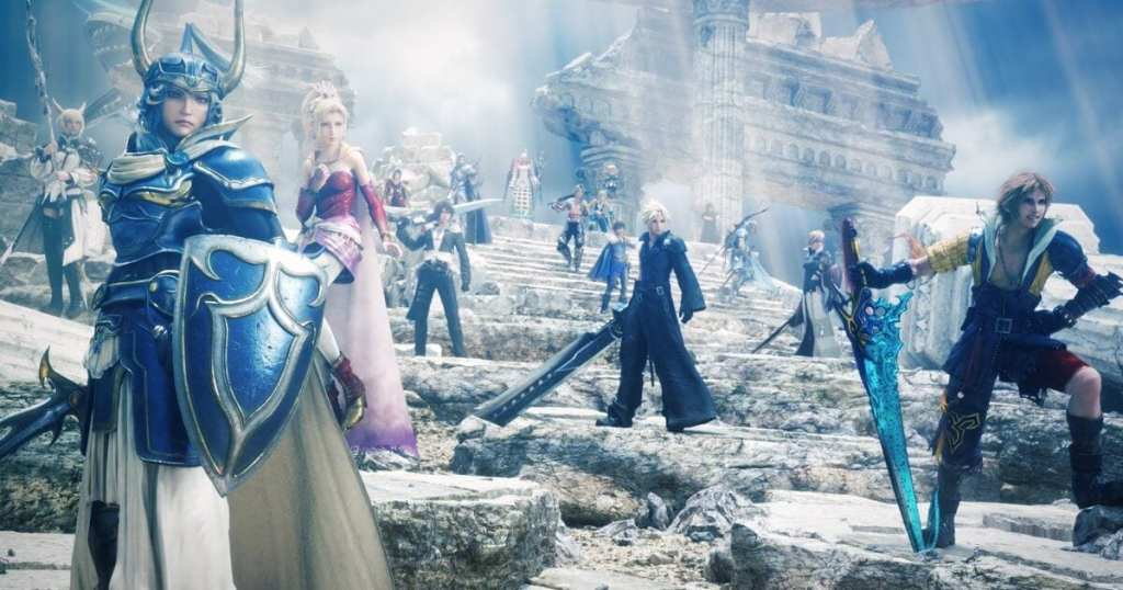 Final Fantasy Across the Years