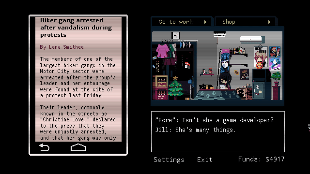 This is how the story is revealed in VA-11 HALL-A, and in reality.