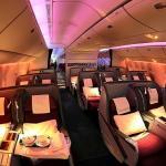 カタール航空ビジネスクラスB777で行くヨーロッパ(NRT/DOH)