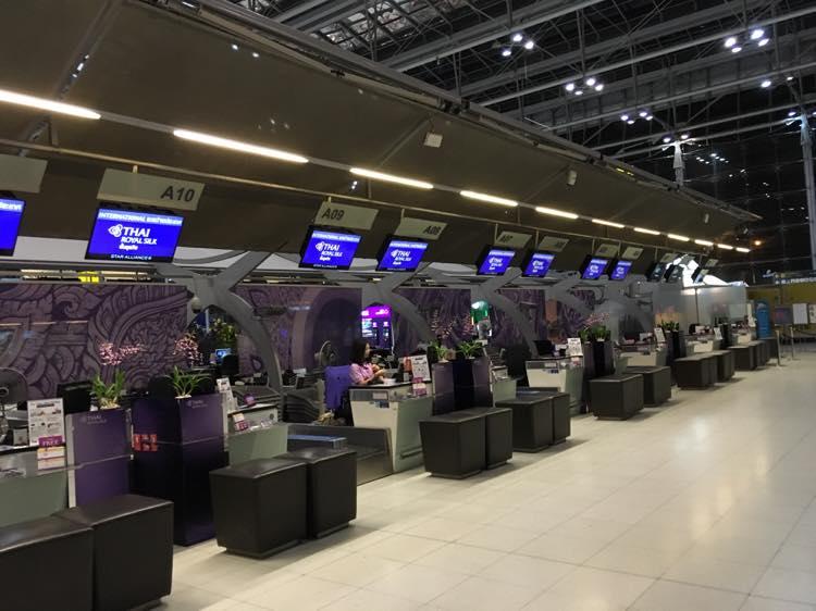 TG Thai Airways business