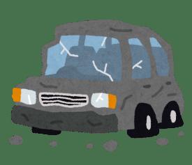 car_jikosya-792x683 【悲報】先月買った車、早速擦る