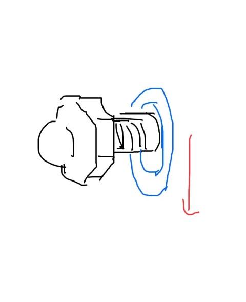 nj9FETh-480x589 【自動車】タイヤ交換してたら左後ろのタイヤはめてナット回してたら締まらなくなった